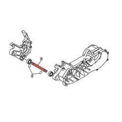 Axe et entretoise de support moteur pour MBK Booster Stunt Bws Rocket