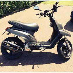 Soportes de montaje Easyboost Sport MBK Booster Yamaha Bws