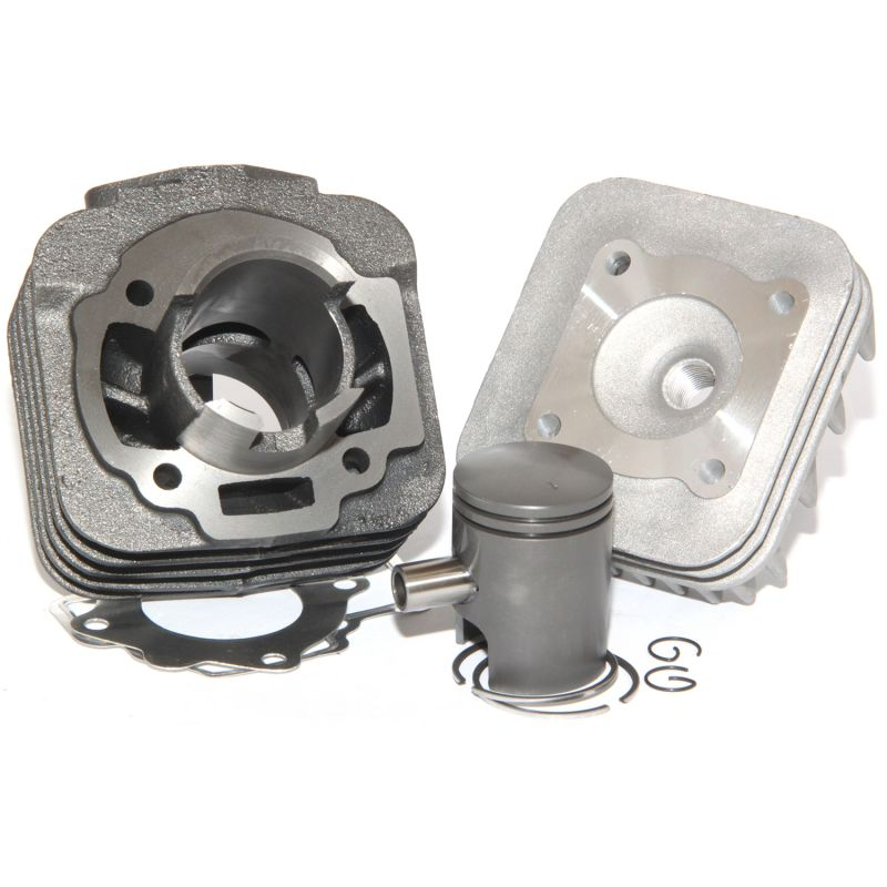 Easyboost 50cc Cylinder Kit Cast Iron Piaggio AC Typhoon NRG