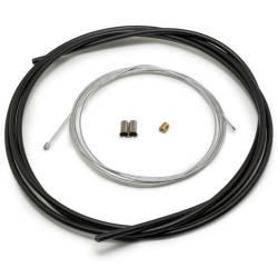 Câble de Gaz Accélérateur Easyboost 2 mètres Universel avec Gaine Embouts Serre-Câble