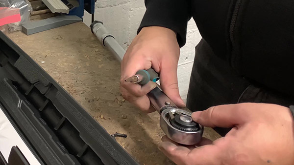 Turning the tip over (continued)