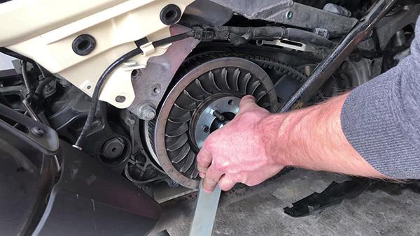 Dismantle the torque drive