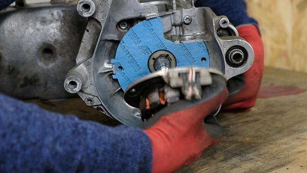 Démonter le rotor, le stator et le joint